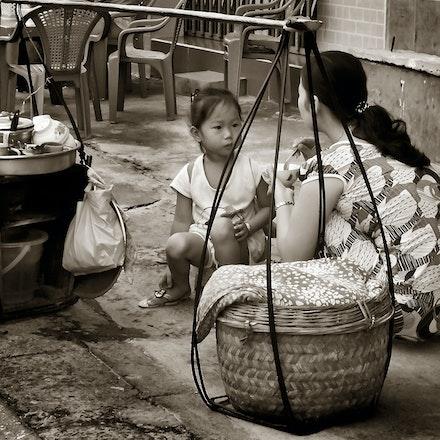 Vietnamese Street Breakfast - Vung Tao, Vietnam