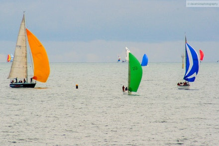 Sailing on Port Phillip Bay, VIC