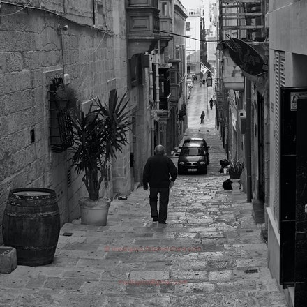 Valletta Alleyway, Malta - Malta (File: L1011399)