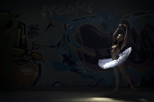 artisitic adult - Abandoned Ballerina