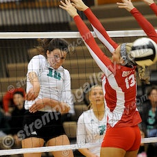 Crown Point vs. Valpo - 10/1/15 - Valpo was a three set winner over Crown Point on Thursday evening (10/1) in Valparaiso.  Scores were:  25-19, 25-19,...