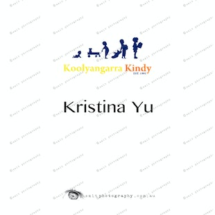 Koolyangarra Kindy -  Kristina Yu