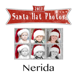 Santa Hat Photos - Nerida