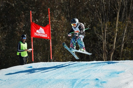 140829_sx_8399 - NSW State Championships-  skier cross race at Thredbo, NSW (Australia) on August 29 2014. Jan Vokaty