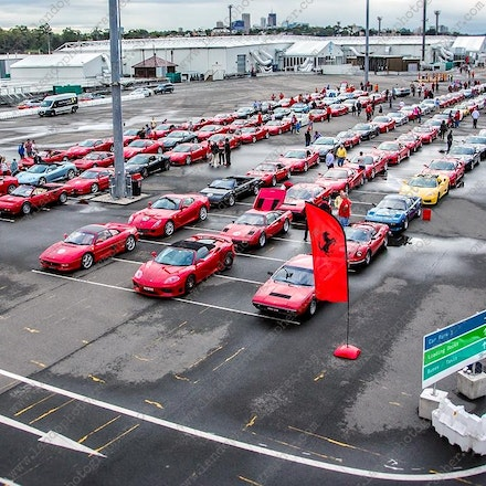Sydney Exhibition Center @ Glebe Island - Ferrari Road to Sydney