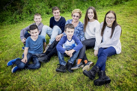 Internet 120 Monica's grandchildren - 14 July 2014 - Centennial Park - Family photography - sydney wedding photographer