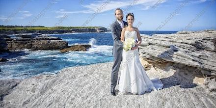 Internet 1082 Alison and Daniel Wedding -  14th March 2015 - Little Bay