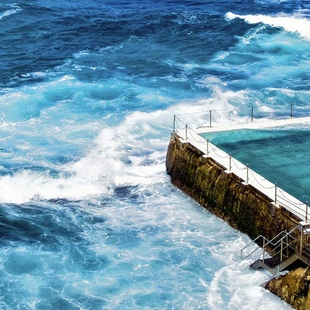 Bondi Icebergs - Copyright © 2015 Melissa Fiene Photography. All rights reserved. All images created by Melissa Fiene are © Melissa Fiene Photography.