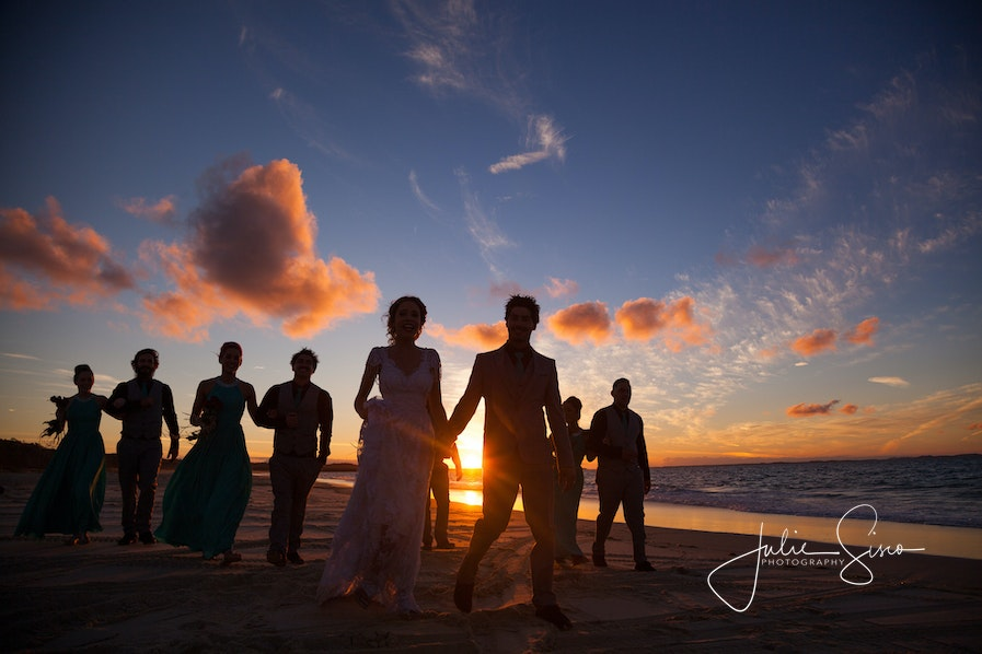 Samantha & Tyson's Wedding North Stradbroke Island - Julie Sisco Photography - Samantha & Tyson's Beautiful Beach Wedding - North Stradbroke Island - Perfect...