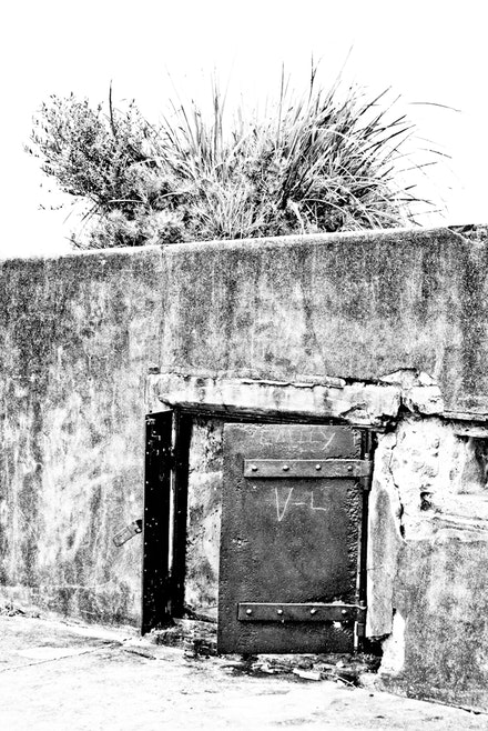 Defence-1864 - Detail of Middle Head Defence Fort, Sydney Harbour. circ. 1871