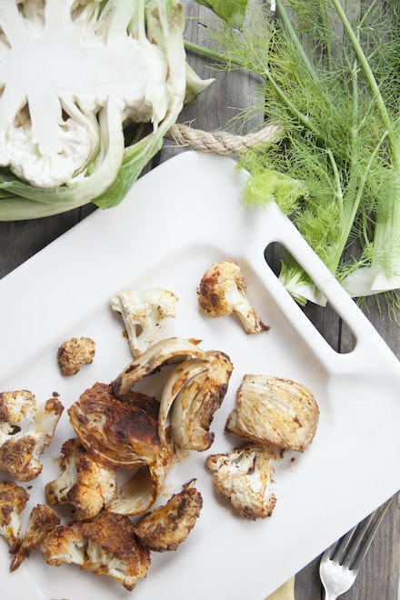 Cauliflower_Fennel Salad - Sarah Craven Photography