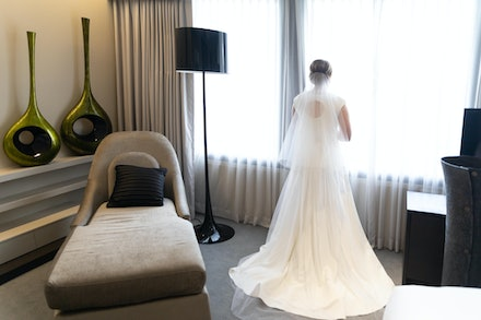 Beautiful Bridal - Gorgeous Bridal portrait captured in all it's beauty, at Sofitel in Brisbane, by Logan City photographer Kerry Bergman.  Capturing all...