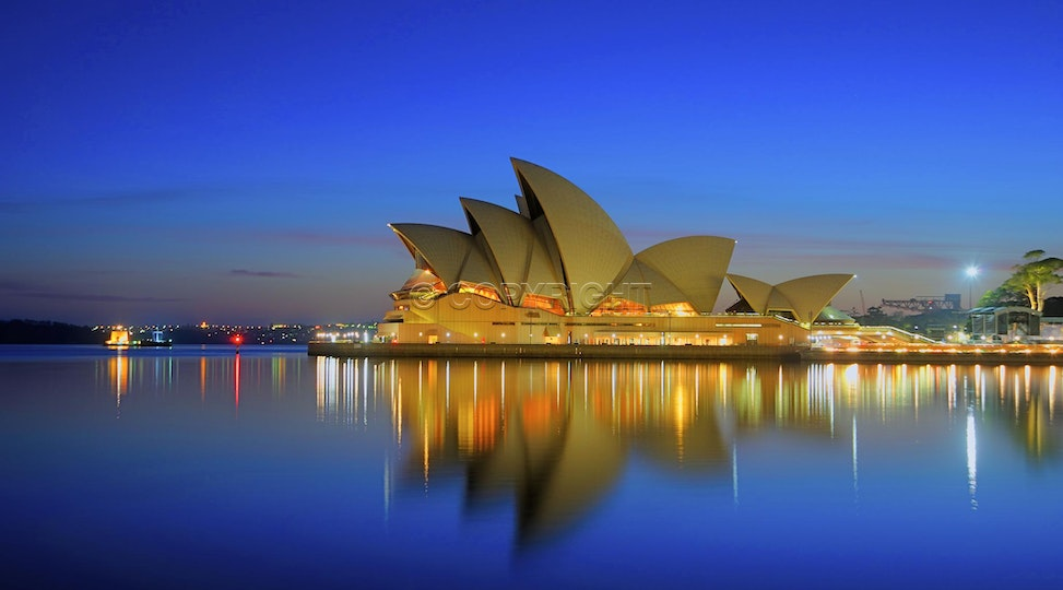 The Sydney opera House - A beautiful view of the Modern wonder of the world. Sydney opera house is one of the worlds most famous buildings. and on this...