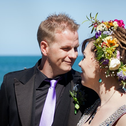 Emma & Tom - Hi Res - The beautiful seaside wedding of Emma and Tom.