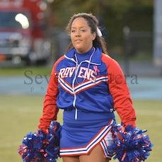 Ravenna Cheerleaders - Homecoming Football Game October 12, 2012