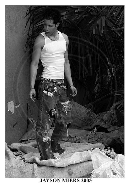 DC10505 - Signed Male Fashion Photo Art by Jayce Mirada  5x7: $10.00 8x10: $25.00 11x14: $35.00  BUY NOW: Click on Add to Cart