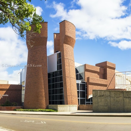 Wexner Center for the Arts, Ohio State University/Color Photo_2436_8295 - Photo by Campus Photos USA. The Wexner Center for the Arts opened on the college...