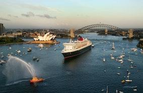 Queen Mary 2_16499 - Sydney Harbour, Australia