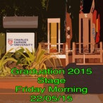 Stage Friday Morning 22/05/15