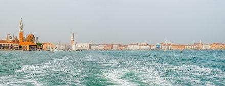 086 Venice 051115-3147-Pano-Edit-Edit - Looking back on Venice, Italy.