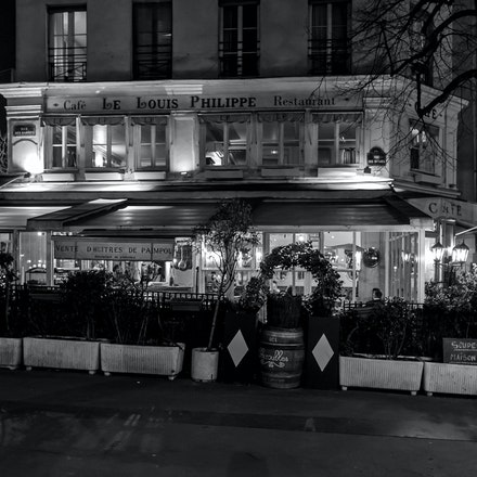 085 - Paris - 4th - 150317-9180-Edit - Café-Restaurant Louis Philippe