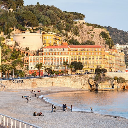 2017 Nice - Nice, capital of the Alpes-Maritimes department on the French Riviera, sits on the pebbly shores of the Baie des Anges. Founded by the Greeks...