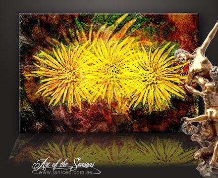 Art of the Seasons - canvas - Art of the Seasons is stunning on textured canvas.