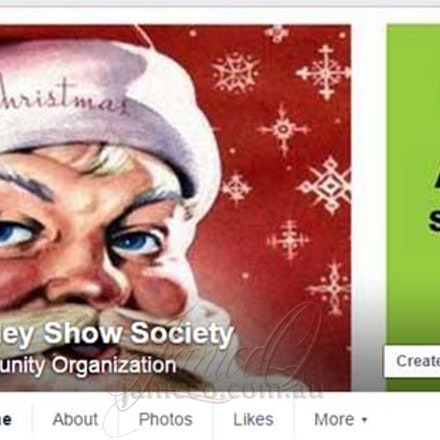 Laidley Show - Christmas Facebook Cover Image - Cover images can be a great tool to advertise not only the group or company but special events, products,...