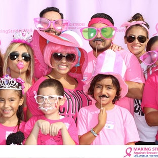 Making Strides Against Breast Cancer - Los Angeles 2015