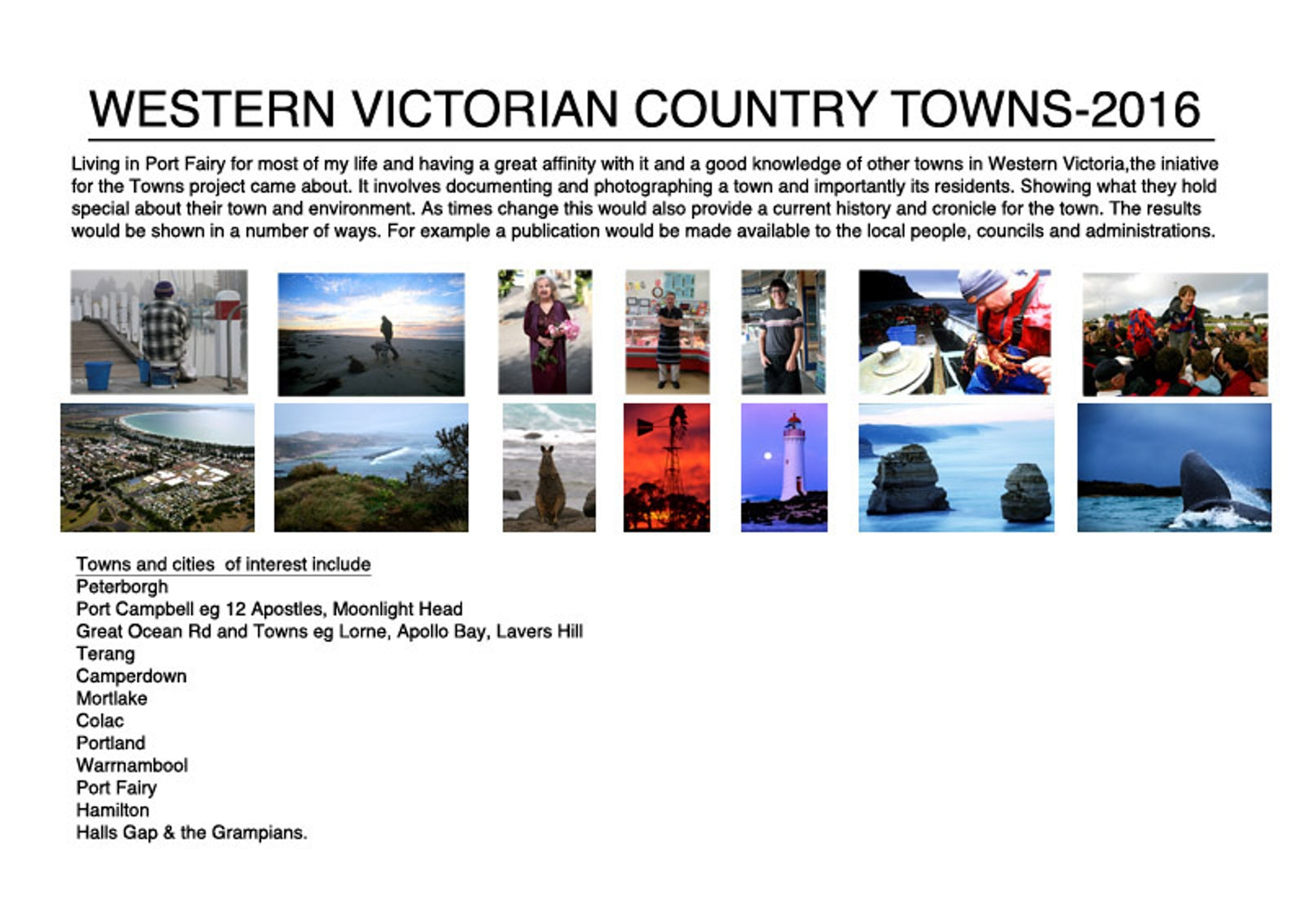 South West Victoria Country Towns and Cities