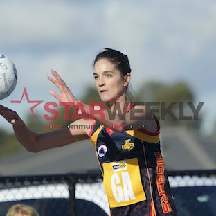 Rdnlmeldig. RDNFL A Grade Netball. Melton Centrals v Diggers Rest - July 9, 2016 - Pictures by Shawn Smits