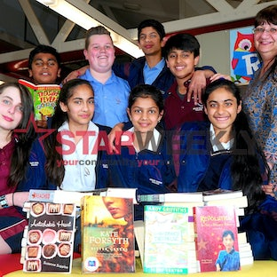 Keilor Downs College students answered the call of the Victorian Premier's Reading Challenge - Photos by Joe Mastroianni