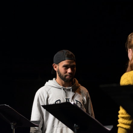 National Play Festival - Pedagogy - A reading from the Pedagogy play at the National Play Festival at the Malthouse Theatre Melbourne, July 2016