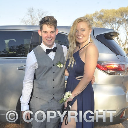 151120_SR27447 - jack tiller, Mary Carter at the Longreach State High School formal, Friday November 20, 2015.  sr/Photo by Sam Rutherford
