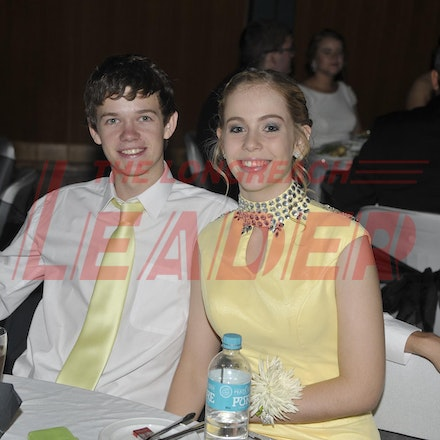 151120_SR27464 - Jason cutting, Lucy Harris at the Longreach State High School formal, Friday November 20, 2015.  sr/Photo by Sam Rutherford