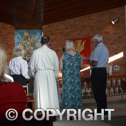 160322_DSC_5569 - Wendy Tabrett, warden of St Andrews Longreach with Susan and Graeme Liersch and Kevin Kerr, warden of Barcaldine Anglican Church.