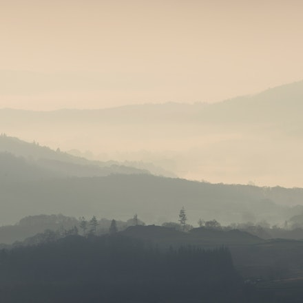 Dawn haze