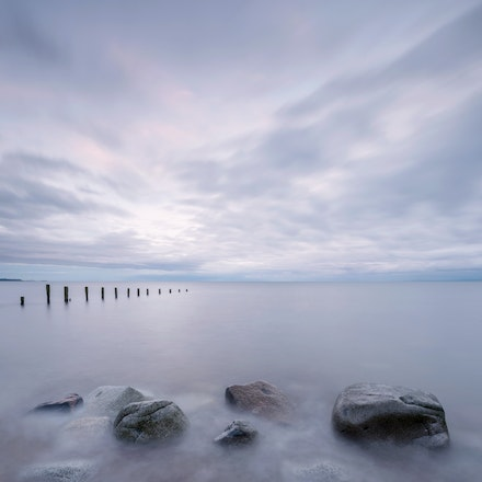 Pastel sunset at Allonby